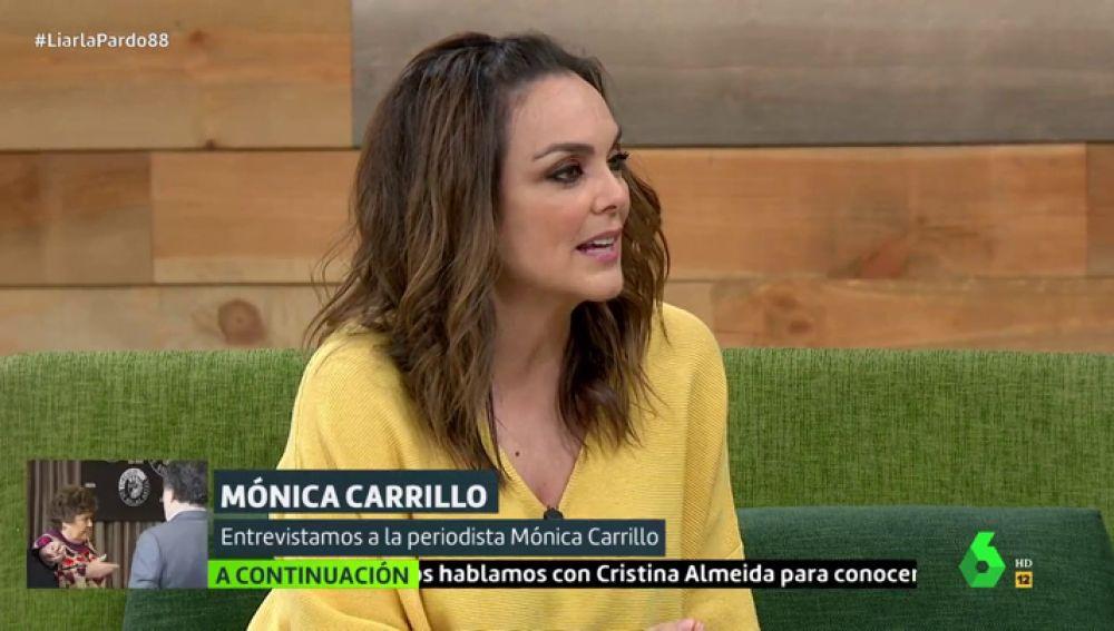 Cristina Pardo entrevista en Liarla Pardo a la periodista Mónica Carrillo