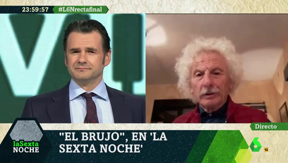 Rafael Álvarez 'El Brujo' en laSexta Noche