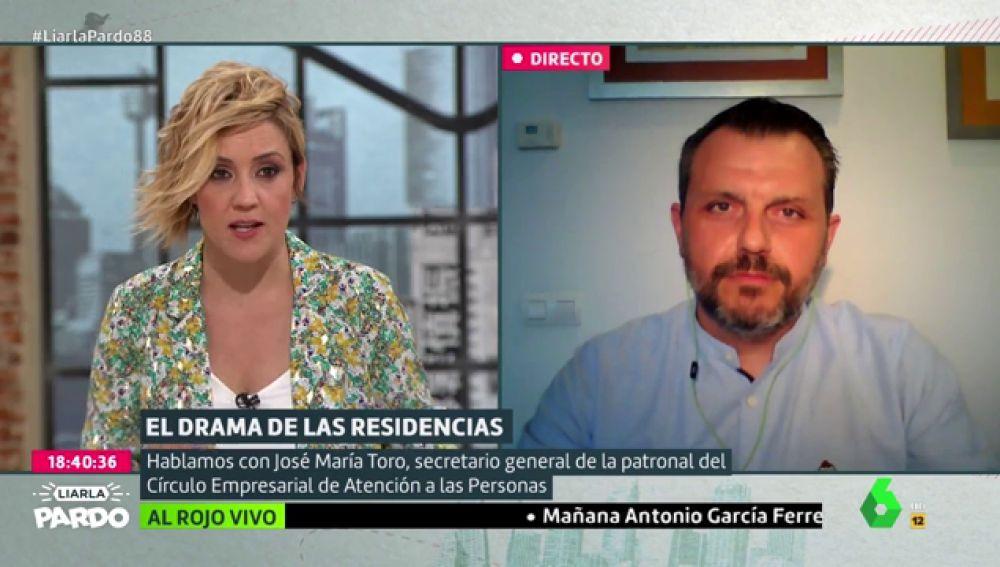 """José María Todo (CEAPS): """"Los protocolos de la mayoría de hospitales de España discriminaban a los mayores de las residencias"""""""
