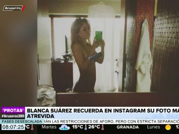 Blanca Suárez publica de forma inédita su foto más atrevida en las redes sociales