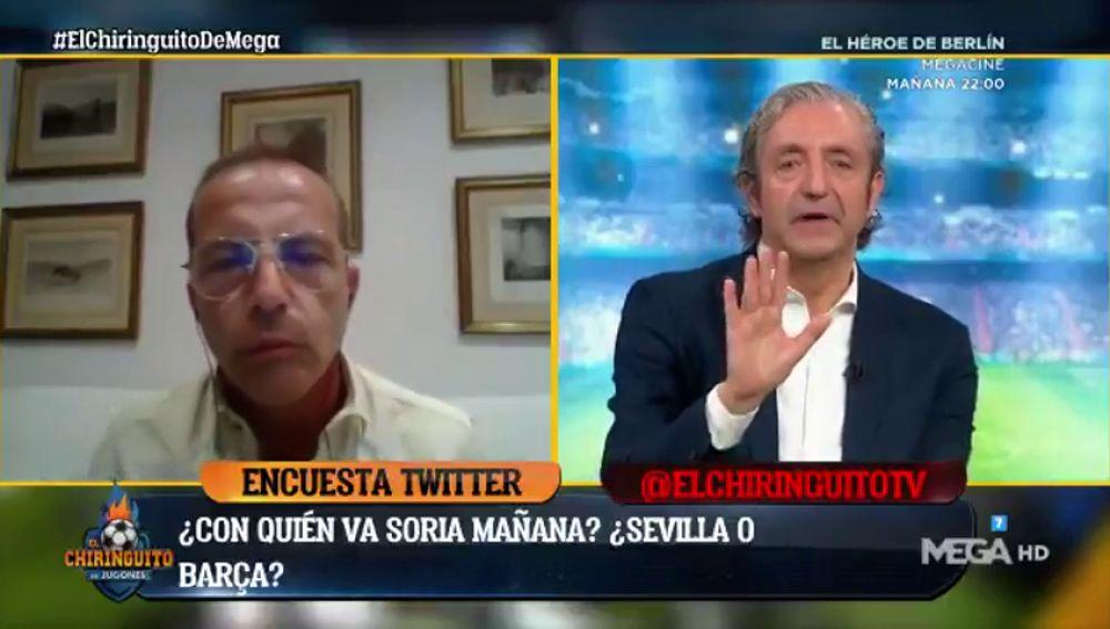 Cristóbal Soria Explota Y Abandona El Chiringuito En Directo