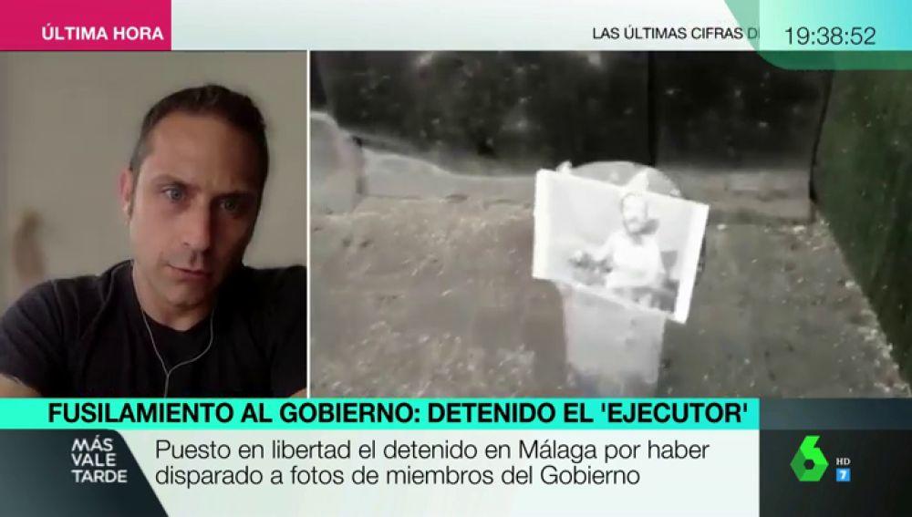El periodista de 'La Marea' Miquel Ramos