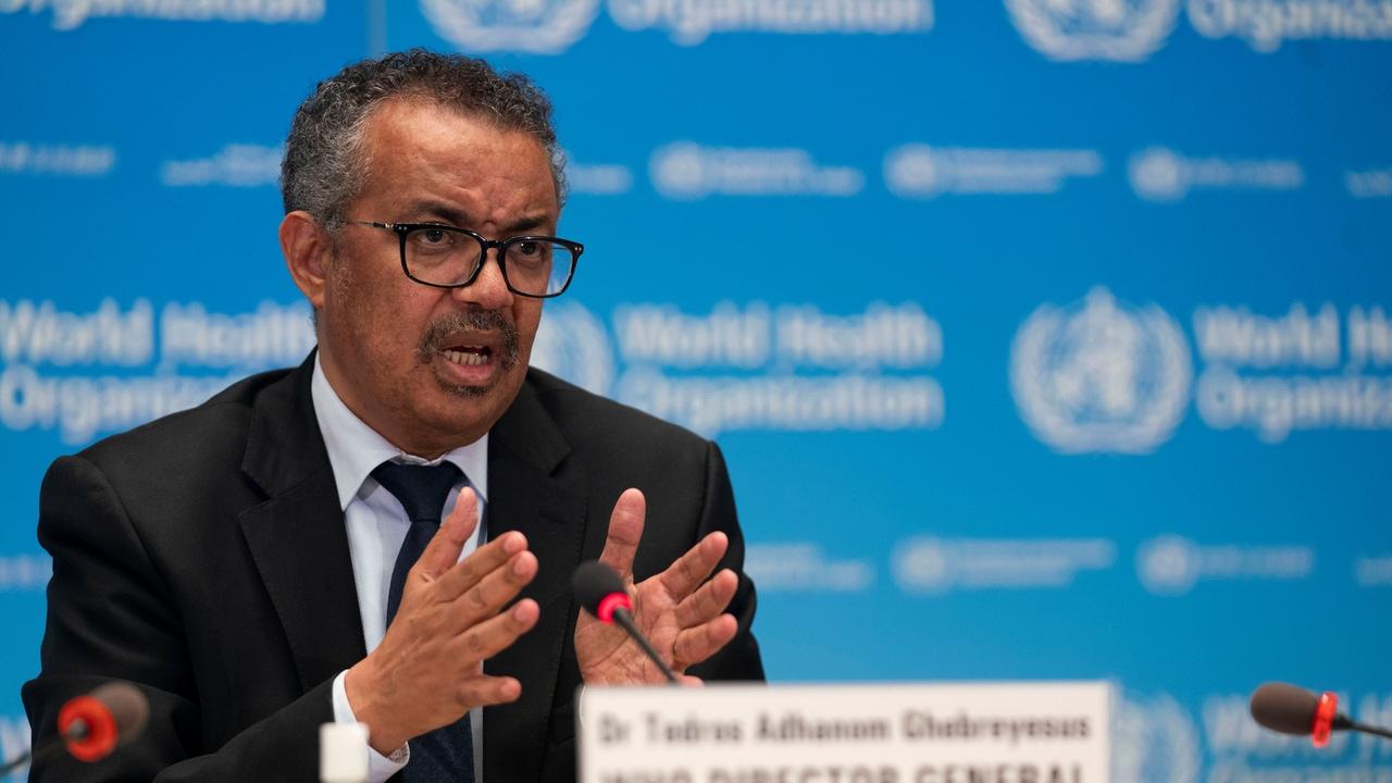 Tedros Adhanom Ghebreyesus, director general de la OMS