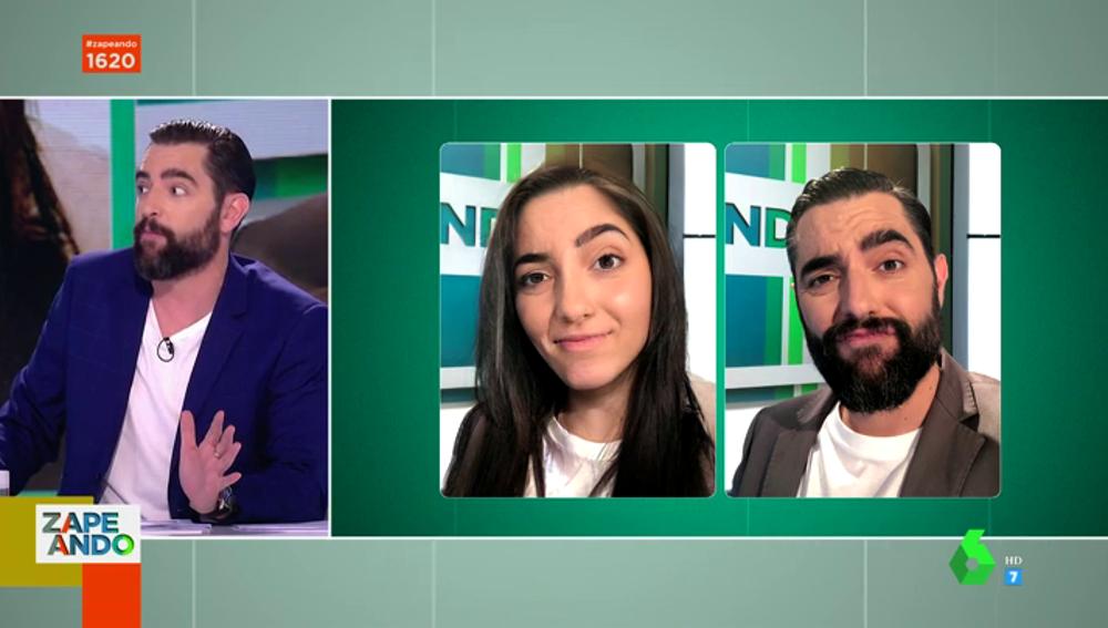 Anna Simón, Dani Mateo, Cristina Pedroche... se unen a la moda de FaceApp: así les sienta el cambio de sexo