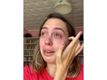 Lucía, en su vídeo denuncia