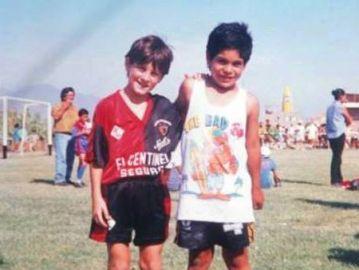 Leo Messi en Newell's