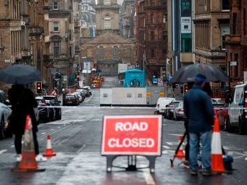 Zona de Glasgow donde tuvo lugar el ataque