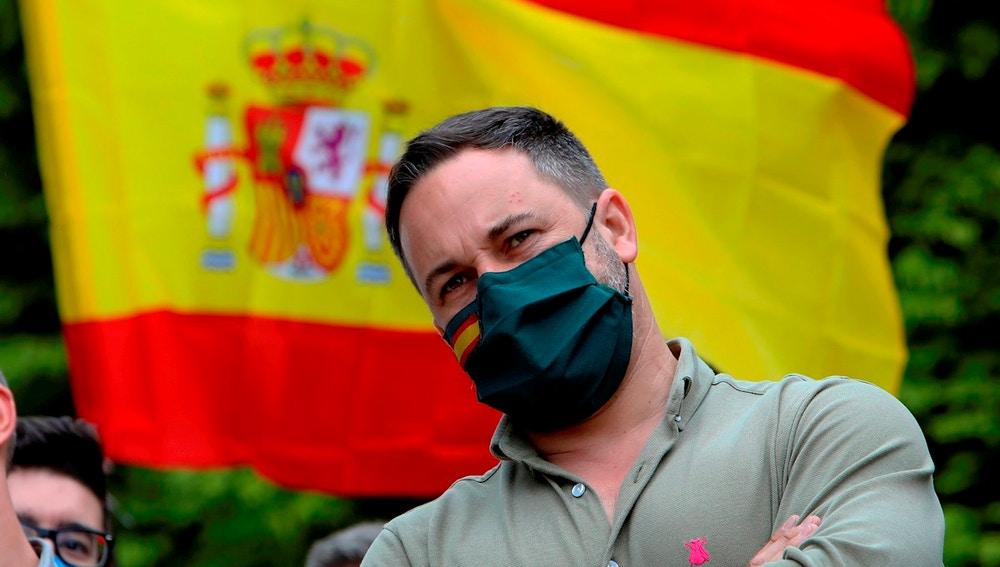 El líder de Vox, Santiago Abascal, en una imagen de archivo