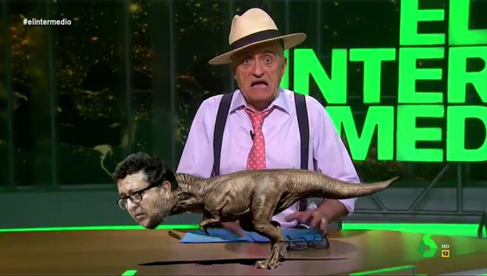 """Así es el Serranosaurus, el expolítico de Vox cuya ideología """"tiene millones de años"""""""