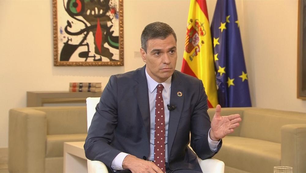 Pedro Sánchez en Moncloa (Archivo)