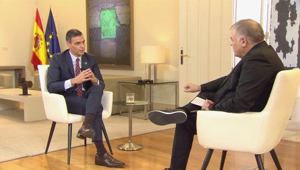 Entrevista a Pedro Sánchez en ARV