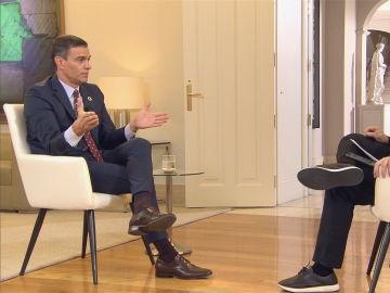 Pedro Sánchez responde a Antonio García Ferreras en ARV