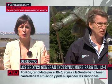 Ana Pontón, candidata del BNG a la presidencia de la Xunta