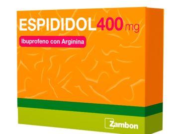 Una caja de Espidifen de 400 mg.