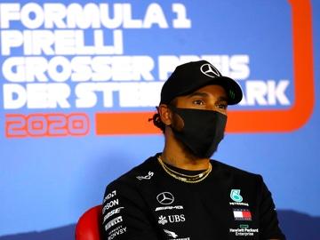 Lewis Hamilton, piloto de Mercedes, en el circuito de Spielberg