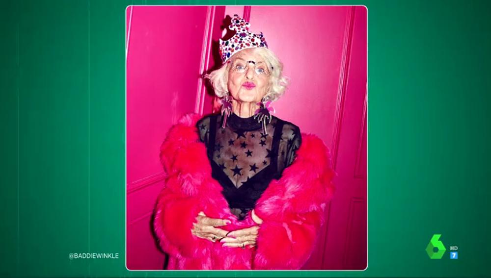 """Baddie Winkie, la instagramer de 91 años que se define como """"la chica más sexy"""" del mundo"""