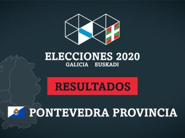 Resultados de las elecciones en la Provincia de Pontevedra