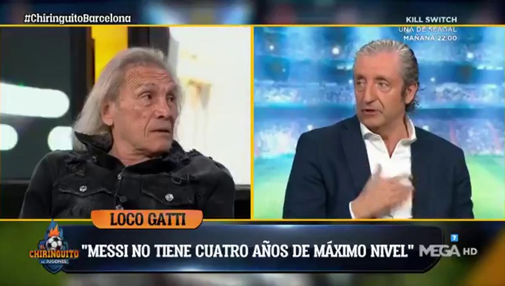 """Gatti: """"¿Que Messi va a jugar 4 años más al máximo nivel? Si ya le cuesta"""""""