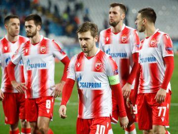 Jugadores del Estrella Roja