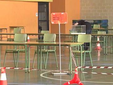 Mesa electoral en Euskadi