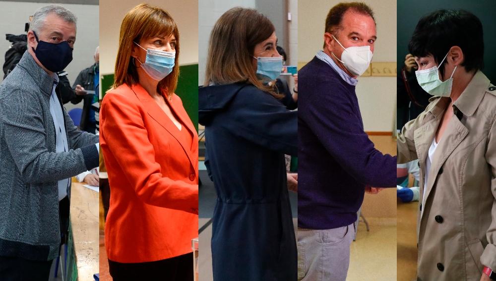 Candidatos en Euskadi