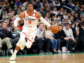 Russell Westbrook, base de los Houston Rockets