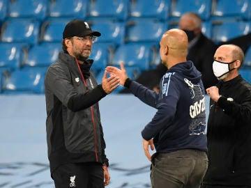 Jürgen Klopp y Pep Guardiola
