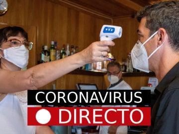 Coronavirus España hoy: Última hora, casos, contagios, mascarillas y noticias de la covid-19, en directo