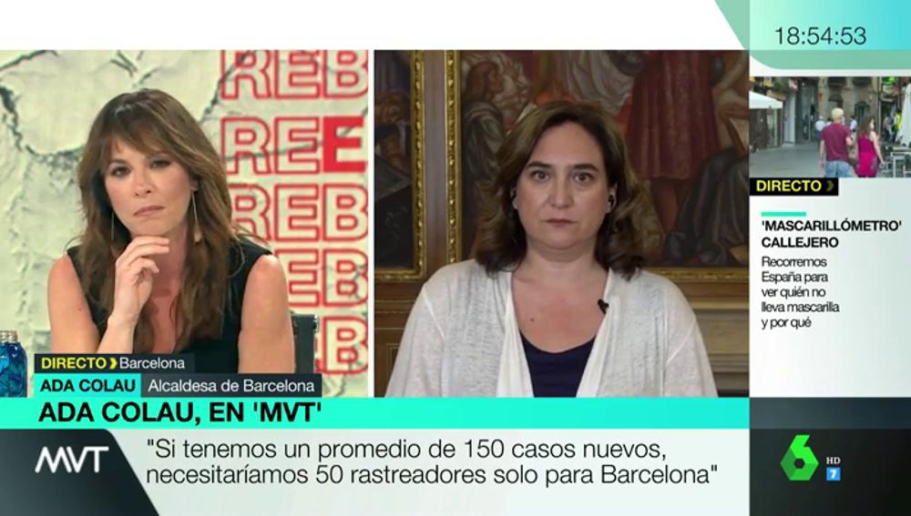 """Colau exige a la Generalitat aumentar los rastreadores del coronavirus: """"Hay 120 en toda Cataluña y se necesitarían 50 para Barcelona"""""""