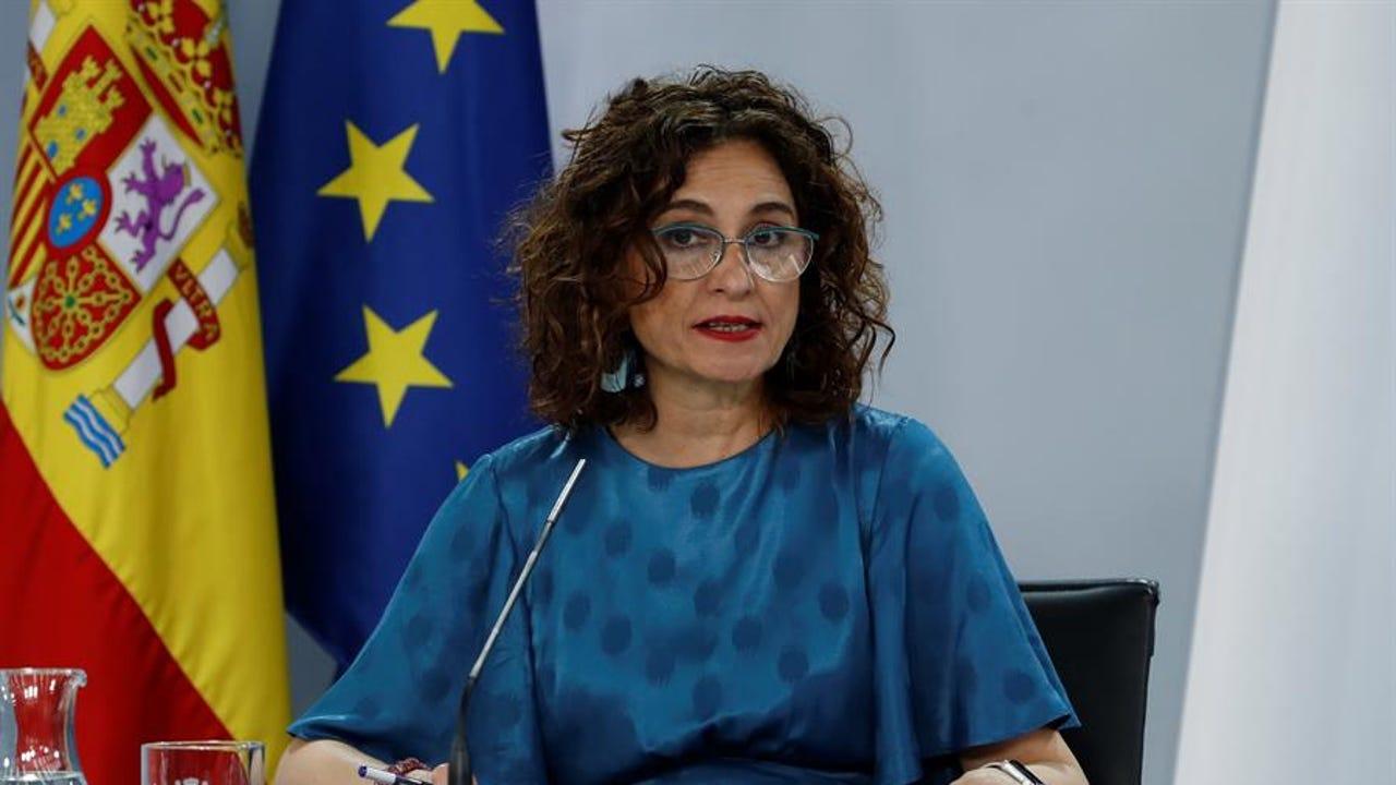 La ministra de Hacienda y portavoz del Gobierno, Maria Jesús Montero.