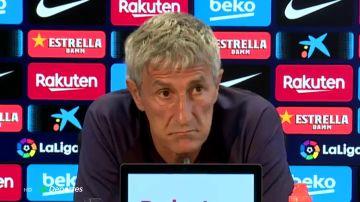 """Setién: """"Naturalmente que me veo entrenando al Barcelona la próxima temporada"""""""