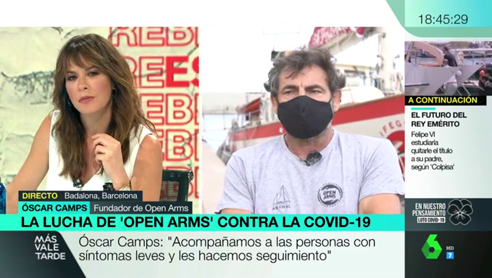 Open Arms busca voluntarios para atender a los temporeros aislados por coronavirus en Lleida
