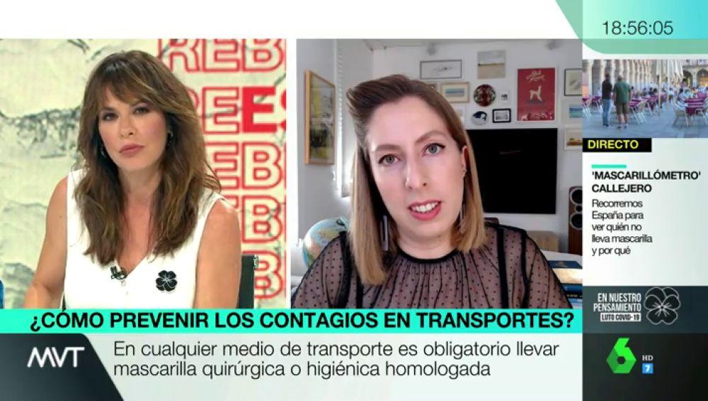 ¿Cómo viajar con coronavirus?: los consejos de Déborah García para evitar el contagio en el tren y el avión