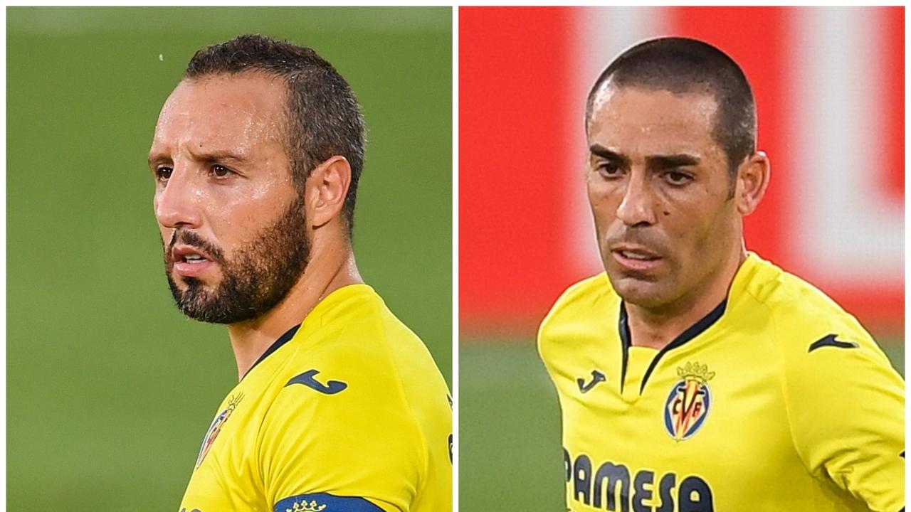 Cazorla y Bruno, con el Villarreal