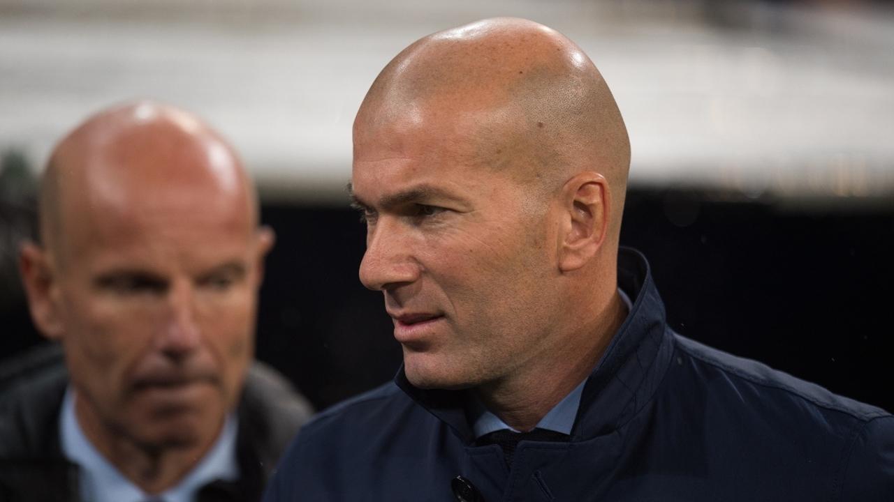Zidane, con Bettoni
