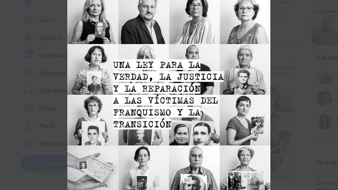 Imagen de víctimas del franquismo