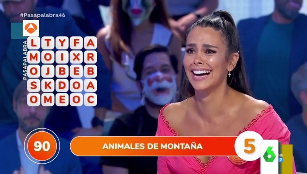 El divertido lapsus de Cristina Pedroche en Pasapalabra