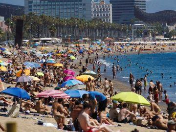 Vista de la playa de San Sebastián