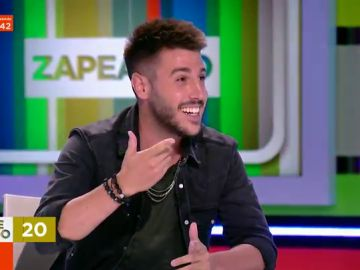 Antonio José se enfrenta al reto musical de Zapeando con canción en directo incluida
