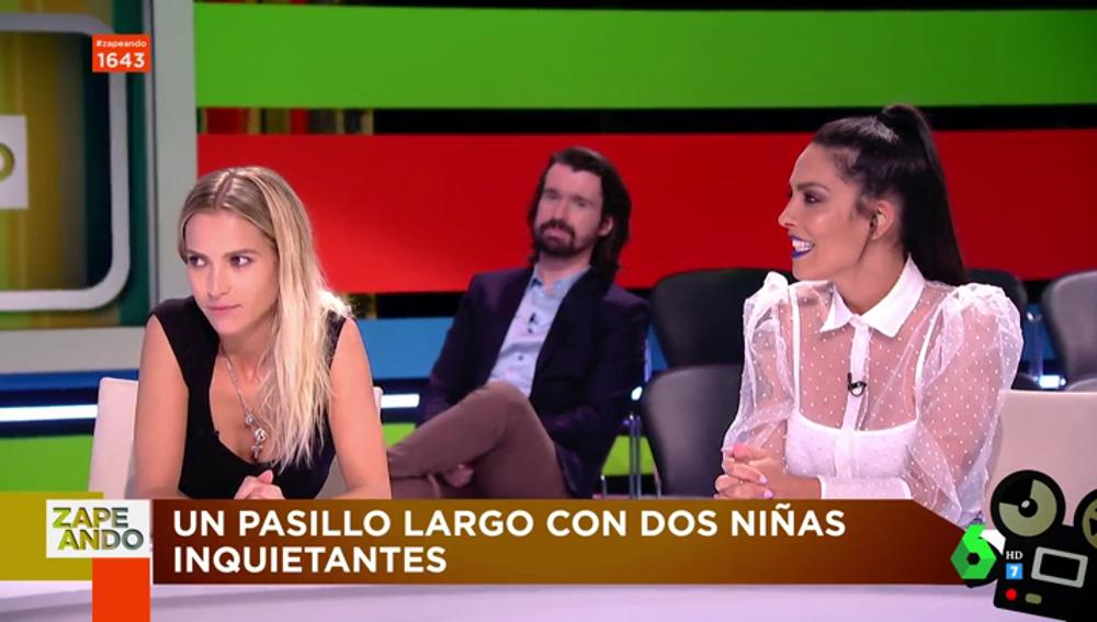 Ana Fernández se enfrenta al reto más 'terrorífico' de Zapeando