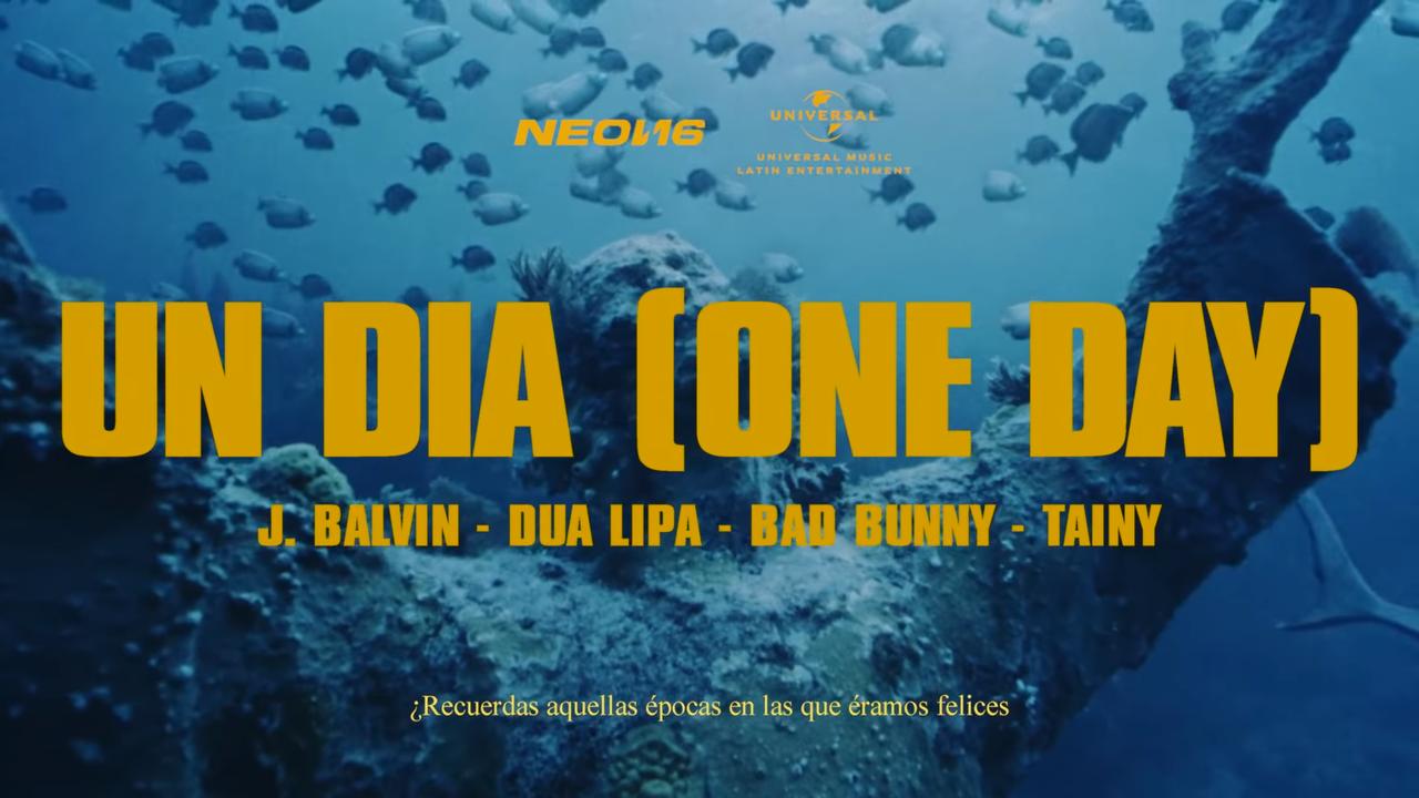 Dua Lipa anuncia un nuevo 'single' con Bad Bunny y J-Balvin que tendrá a Úrsula Corberó como protagonista