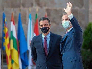 El rey recibe hoy miércoles en audiencia al presidente del Gobierno, Pedro Sánchez.