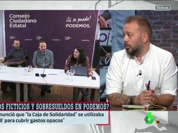 El periodista Antonio Maestre, en Al Rojo Vivo