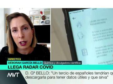 Deborah García, divulgadora científica