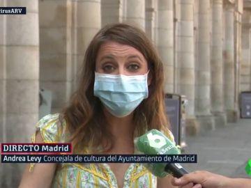 Andrea Levy manda un mensaje a Pablo Iglesias