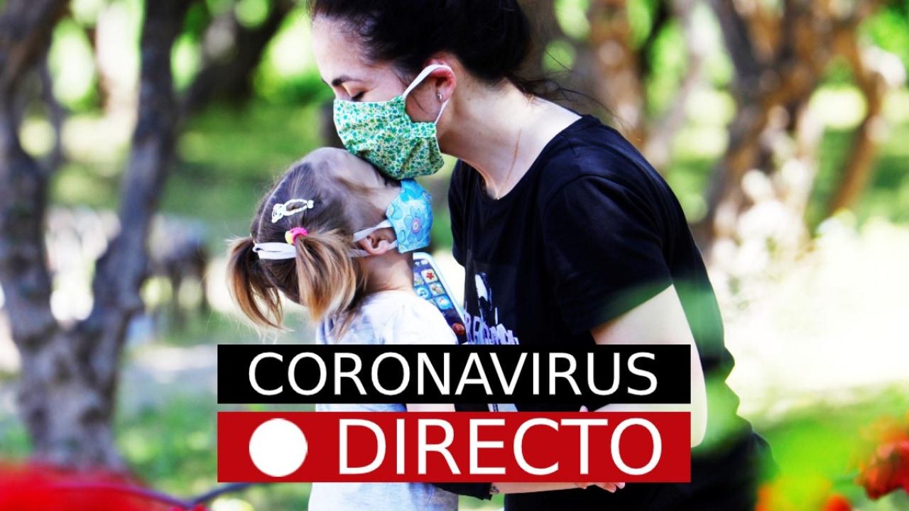 Coronavirus en España hoy: última hora sobre la vuelta al cole y nuevos contagios, en directo