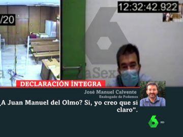 """""""Es vox populi"""": así señaló el exabogado de Podemos a Monedero, Mayoral y Del Olmo ante el juez"""