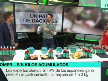 El 'peso de la Covid': los alimentos más 'peligrosos' que hemos consumido durante la cuarentena y sus riesgos