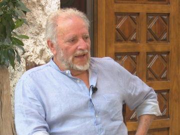 Julio Anguita durante su entrevista en laSexta Noche