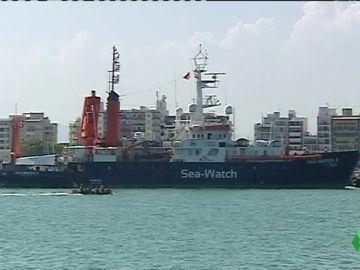 El Sea-Watch 4 viaja rumbo a las costas de Libia